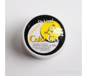 Цветной УФ-гель (с блёстками, Желтый, Sparkling Yellow), 7,5 г