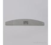 Пилка для искусственных ногтей (серая, полукруглая, 180/180)