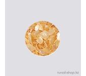 Дизайн для ногтей:  ракушки для ногтей (перламутрово-желтый)