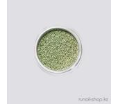 Бульонки для ногтей (зеленый перламутр)