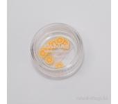 Резиновые аппликации для ногтей (дольки апельсина, оранжевый)