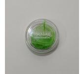 Сухие листья для дизайна ногтей (зеленый)