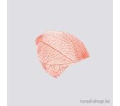 Сухие листья для маникюра (красный)