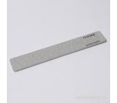 Пилка для искусственных ногтей (серая, прямая, 100/120)