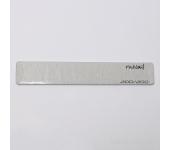 Пилка для искусственных ногтей (серая, прямая, 200/200)