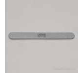 Пилка для искусственных ногтей (серая, закруглённая, 100/120)
