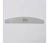 Пилка для искусственных ногтей (серая, полукруглая, 120/150)