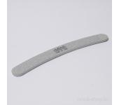 Пилка для искусственных ногтей (серая, бумеранг, 150/180)