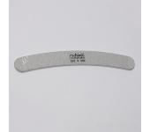 Пилка для искусственных ногтей (серая, бумеранг, 200/200)
