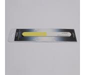 Полировщик для натуральных ногтей (желтый, тонкий, 320/500/1500), RU-0630
