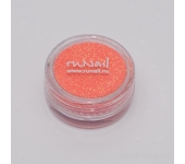 Дизайн для ногтей:  блёстки (ярко-оранжевый)