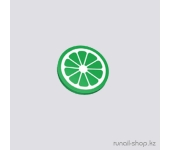 Фимо для ногтей (Дольки лайма,зеленый)