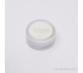 Пыль для дизайна ногтей (белый)