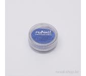 Пыль для дизайна ногтей (синий)