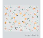 Наклейки для дизайна ногтей 3D (цветы) №1630