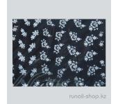 Наклейки для дизайна ногтей 3D (белые цветы) №1673