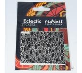 Наклейки для дизайна ногтей (кожа ящерицы) №1750