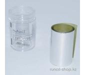 Фольга отрывная для дизайна ногтей (серебряный), 1,5 м