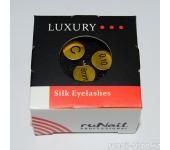 Ресницы для наращивания Luxury, шёлк Ø 0,10 мм, №8