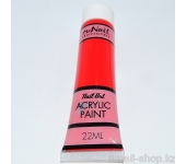 Акриловая краска для нейл-арт (красная), 22 мл