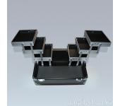 Саквояж (черный) 30х19,5х24,5 см