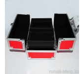 Саквояж (красный) 24х15,5х15 см