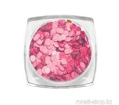 Дизайн для ногтей: пайетки голографические (цвет: розовый)