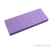 Баф мини (универсальный, фиолетовый, 100/180), 14 шт