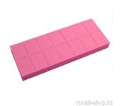 Баф мини (универсальный, розовый, 100/180), 14 шт