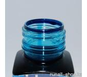 Витражные краски для ногтей Idea Vetro - №360 голубой,10мл