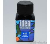 Витражные краски для ногтей Idea Vetro - №426 ультрамарин,10мл