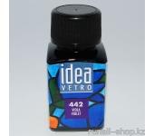 Витражные краски для ногтей Idea Vetro - №442 фиолетовая,10мл