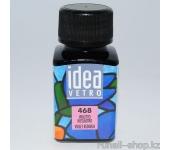 Витражные краски для ногтей Idea Vetro - №468 фиолетово-розовый,10мл