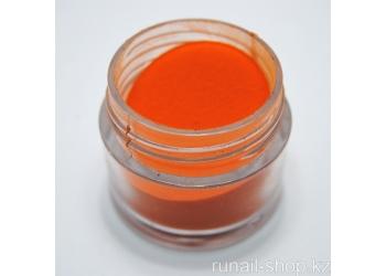 Цветная акриловая пудра (оранжевая, Pure Orange), 7.5 г
