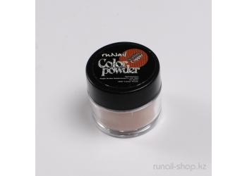 Цветная акриловая пудра (с блёстками, темно-оранжевая, Sparkling Copper), 7,5 г