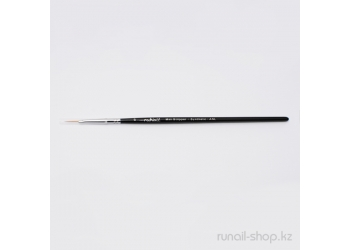 Кисть для дизайна ногтей Mini Stripper Synthetic ANL №6