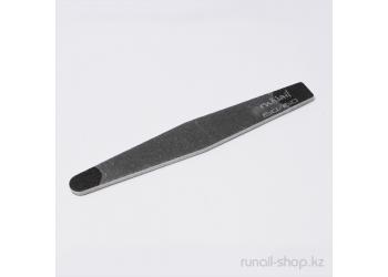 Пилка для искусственных ногтей (чёрная, ромб, 150/150)