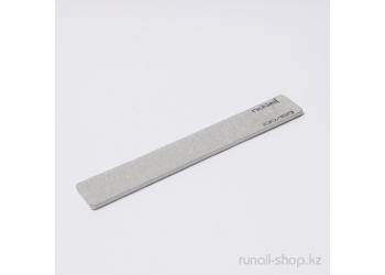 Пилка для искусственных ногтей (серая, прямая, 100/180)