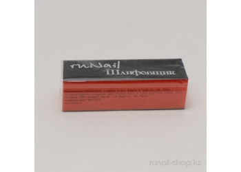Шлифовщик для искусственных ногтей (оранжевый, 100/60/60)