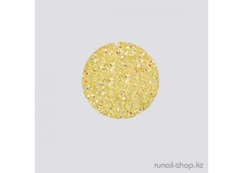 Дизайн для ногтей:  блёстки (лимонный)