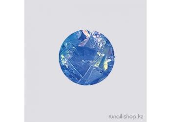 Дизайн для ногтей:  слюда (темно-синий)