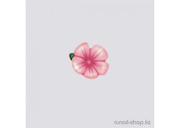 Пластиковые цветы для ногтей (вьюнок, розовый)