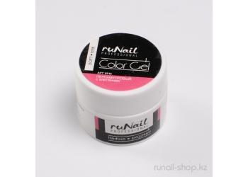 Цветной УФ-гель (с перламутром и блёстками, Нежно-розовый, Soft Pink), 7,5 г