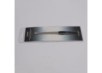 Пилка для натуральных ногтей (металл. с алмазным напылением, 15,3 см, 180), RU-0603