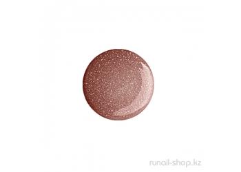 Цветной УФ-гель (с мерцающей пылью, Корица, Cinnamon), 7,5 г