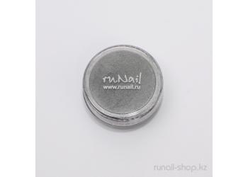 Дизайн для ногтей: пигмент для ногтей(темно-серый)