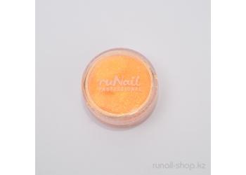 Пыль для дизайна ногтей (оранжевый)