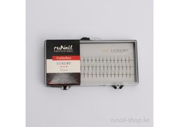 Пучки для наращивания ресниц без узелков Luxury, 10 мм