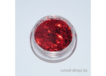 Стружка для дизайна ногтей (красный)