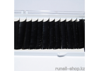 Ресницы для наращивания Luxury, норка Ø 0,15 мм, №14, 12 линий